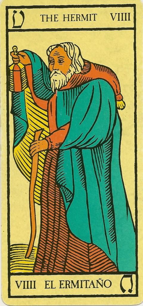 Carta 9 del Tarot