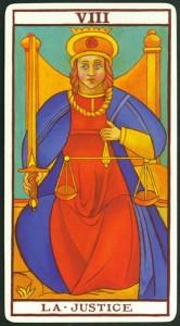 Carta 8. La Justicia