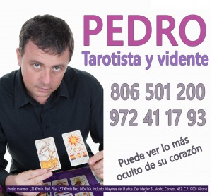 Pedro, tarotista y vidente